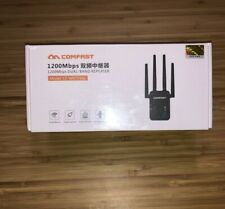 Comfast WiFi Range Extender 1200Mbps Repeater 2.4GHz/5.8GHz Dual Band Booster !!