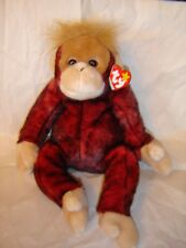 7aeb11341e6 New listing BEANIE BUDDY SCHWEETHEART THE ORANGUTAN RED BLACK WITH TAG  RETIRED NEW WITH TAG