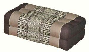 Thai Pillow Headrest Bloster Yoga Meditation Cushion Kapok100% Cotton