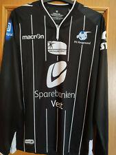 Maglia calcio Haugesund FK 2015 macron M jersey away vintage Norway Eliteserien
