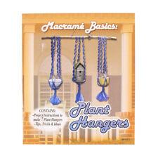 Craft County Macramé Basics: Plant Hangers Book For Beginner & Intermediate