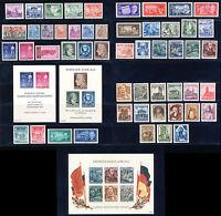 DDR 1955, Jahrgang komplett tadellos postfrisch, Mi. 273,-