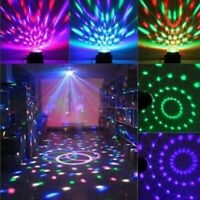 Luci LED per Feste DJ + Lettore Mp3 Proiettore USB Luce da Discoteca Telecomando