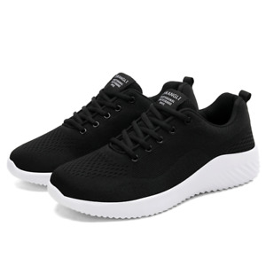 Running Shoes for Men Breathable Fashion Sneaker Casual Lace Up Gym Sport Shoes