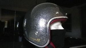 Helmet Wyatt Harley, Coffee Racer, Old School, Size L Look Vintage Retro 3/4