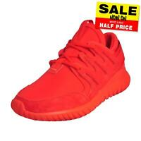 Adidas Originals Tubular Nova Junior Premium Classic Casual Retro Trainers Red