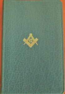 THE HOLY BIBLE MASONIC EDITION  - COLLINS