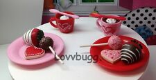 """Warm Your Heart Cocoa Sweets Set Mini for 15"""" Bitty 18"""" American Girl Doll Food"""