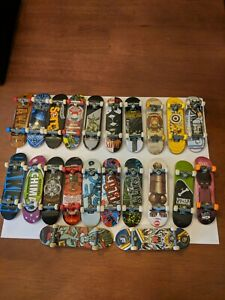 Tech Dech Fingerboards Series 13 aveugles rare et ultra rare Decks Comme neuf on Card Spin Master G