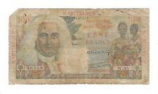 Martinique - 100 Francs, 1947