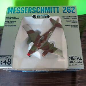 "New in Box Armour / Franklin Mint Me 262A Luftwaffe Ace ""Heinz Bar"" #98152 1:48"