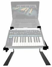 Rockville Dual Shelf Stand for Novation BASS STATION II Keyboard Synthesizer