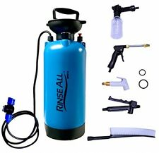 Portable Camping Shower 2.1 Gallon Water Nozzle Sprayer Hose Beach Car Washer