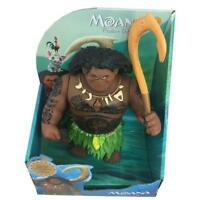 """New Maui 8"""" 20cm Action Figure Toys Moana Model Dolls with Music Lover Gifts"""