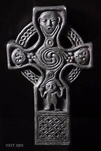 Replica of GALLEN PRIORY CELTIC CROSS, Ireland, 950AD