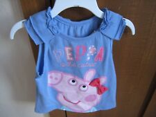 """NEW PEPPA PIG """"PEPPA IS THE CUTEST"""" GIRL'S 2T ~PURPLE TANK~~FREE SHIPPING~~~"""