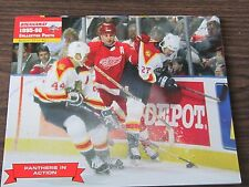 Rob Niedermayer Unsigned 8x10 Stadium Giveaway 95-96 Florida Panthers #33 of #40
