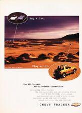 1997 Chevy Tracker Chevrolet Geo Original Advertisement Print Art Car Ad K62