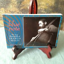 BLUE NOTE: Jazz Photographs of FRANCIS WOLFF ~ A Book of 30 Oversized Postcards