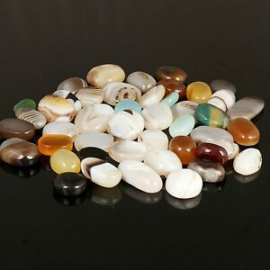Natural Multi-color Onyx Lot, Oval Cabochon Loose Onyx @ 500 Ct. Wholesale Lot
