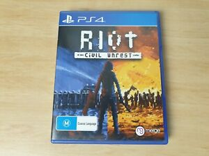 Riot - Civil Unrest - PS4 Sony PlayStation 4 R4 AUS