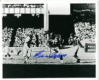 Autographed Signed Rosey Brown Giants 8x10 Photo w/coa jhaut