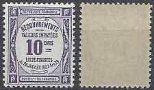 FRANCE TIMBRE TAXE N°44 NEUF ** LUXE GOMME D'ORIGINE MNH