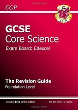 GCSE Core Science Edexcel Revision Guide - Foundation (with online edition),CGP