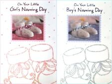 """Baby Boy or Girl """"ON YOUR NAMING DAY"""" Cards"""