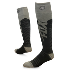 Fox Racing FRI Thin Anthem Performance Socks MX ATV Black and Grey