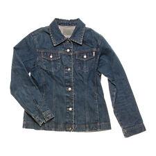 Normalgröße Damen-Jeansjacken aus Baumwolle