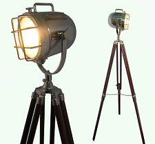 Lampe Sol maison Décorative Design Vintage Trépied éclairage Projecteur Spot