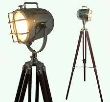 Lampada CASA DECORATIVO VINTAGE DESIGN Treppiede Illuminazione Searchlight Luce Spot