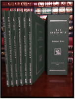 The Green Mile by Stephen King Mint 6 Volume Slipcase Subterranean Press Gift Ed