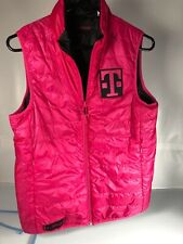 T Mobile Small PINK REVERIBLE ZIP FRONT REP/EMPLOYEE PACKABLE PUFFER JACKET VEST