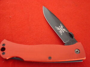 "Schrade made in USA 5"" XTimer Checkered Aluminum Lockback 60TX Knife MINT"