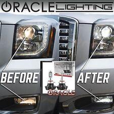 ORACLE 9012 H1R LED Headlight Bulbs (Pair) - 4,000 Lumen - White 6000k