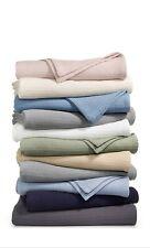 Lauren Ralph Lauren 100% Cotton Bronze Comfort Cotton Pink Full/Queen Blanket