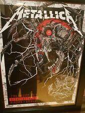Metallica Official Munich Tour Poster 2019