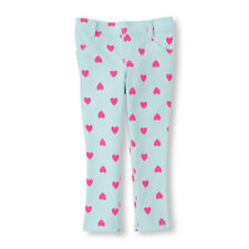 NEW! TCP Baby Girls Jeggings Pants 4T HEARTS Knit Church School Gift $16.95