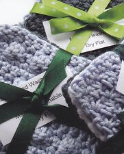 Crochet Pattern ~ Eco Friendly Cotton Scrubbies Washcloth ~ Instructions