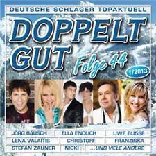 CD Doppelt Gut Deutsche Schlager Topaktuell Folge 44 1/2013 Doppel CD (K61)