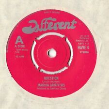 """Marcia Griffiths - Question 7"""" Single 1978"""