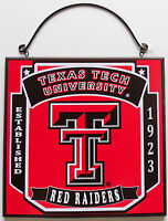 New Texas Tech Red Raiders University College Licensed Wooden Sign Fan Sport