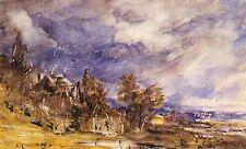 4 Impresiones Del Giclee of London Hampstead Heath 4 Paisajes Cuadros de