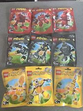 LEGO MIXELS SERIES 1 COMPLETE SET - BRAND NEW AND FACTORY SEALED - DISCONTINUED