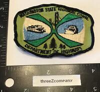 Vtg WASHINGTON STATE HIGHWAY COMMISSION Department of Highways Uniform Patch