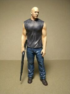 1/18 FIGURE  FAST AND FURIOUS  VIN DIESEL  VROOM  UNPAINTED  FOR  MATTEL  SCHUCO