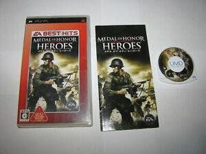 Medal of Honor Heroes EA Best Playstation Portable PSP Japan import US Seller
