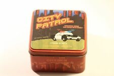 FOSSIL CITY PATROL VIDEO GAME SERIES BOX AND MANUAL  (NO WATCH  BOX ONLY )